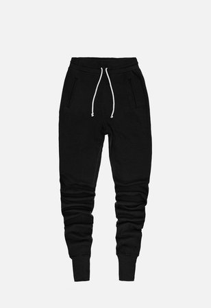 john elliot sweats black