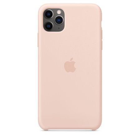 iPhone 11 Pro Max Silicone Case - Pink Sand - Apple