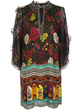 Julius Ruffle Sleeve Dress