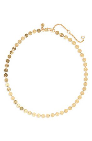 Madewell Disc Chain Necklace | Nordstrom