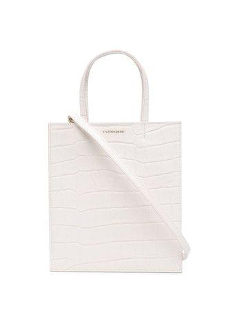 L'Autre Chose crocodile-effect Leather Mini Bag - Farfetch