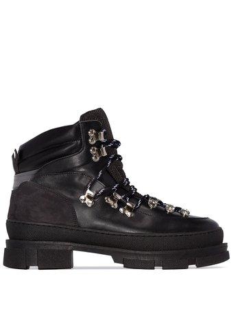 Ganni Winter City Hiking Boots | Farfetch.com