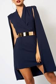 navy blue silk blazer dress - Google Search