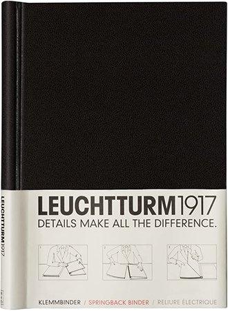 LEUCHTTURM1917 (318056) Springback Binder PEKA (A4) Capacity: 150 Pages Maximum, Size: 220x305x25 mm, Black: Amazon.co.uk: Office Products