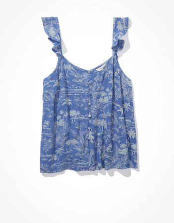 AE Button-Up Cami
