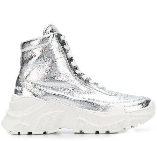 Donna hi-top sneakers