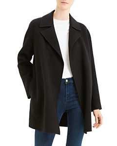 HARRIS WHARF Boiled Virgin Wool Coat | Bloomingdale's