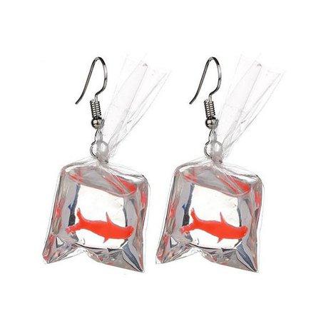 Goldfish Aesthetic Earrings – Boogzel Apparel