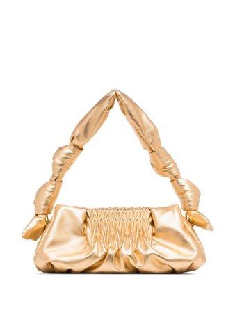 Miu Miu Metallic Clutch Bag - Farfetch