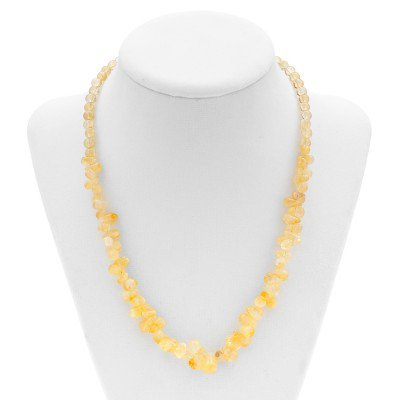 Citrine Gemstone Necklace | Mystic Self LLC