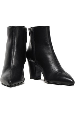 Black Leather ankle boots | Sale up to 70% off | THE OUTNET | GIUSEPPE ZANOTTI | THE OUTNET