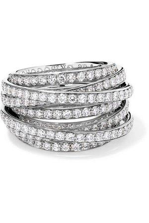 de GRISOGONO   Allegra 18-karat white gold diamond ring   NET-A-PORTER.COM