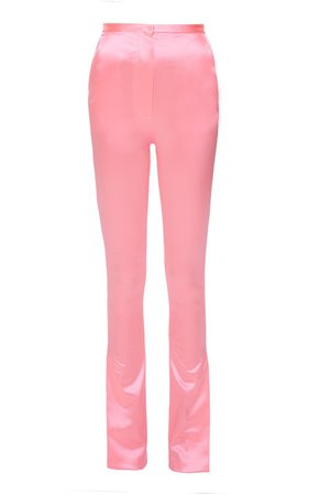 Pink Stretchy Pants by Mach & Mach | Moda Operandi