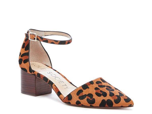 Sole Society Katarinaa Pump Women's Shoes | DSW Brown