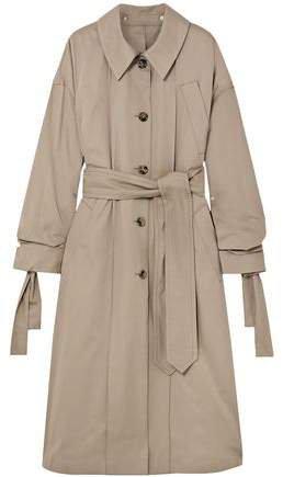 Oversized Cotton-gabardine Trench Coat