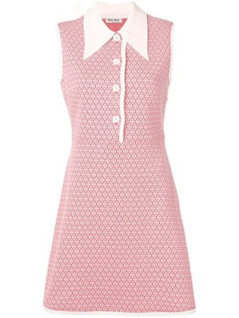 Miu Miu classic collar dress $1,237 - Buy Online - Mobile Friendly, Fast Delivery, Price