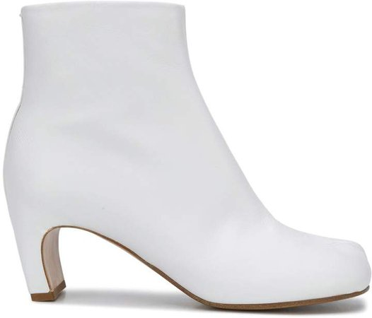 Tabi zipped ankle boots