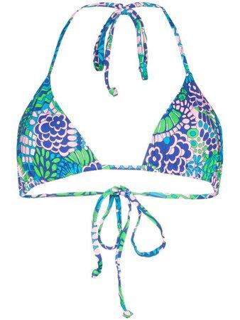 Frankies Bikinis Tia triangle bikini top - FARFETCH