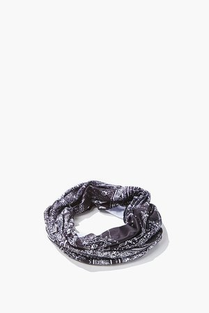 Paisley Print Infinity Scarf | Forever 21
