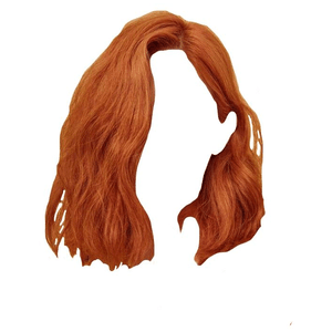 short orange hair png