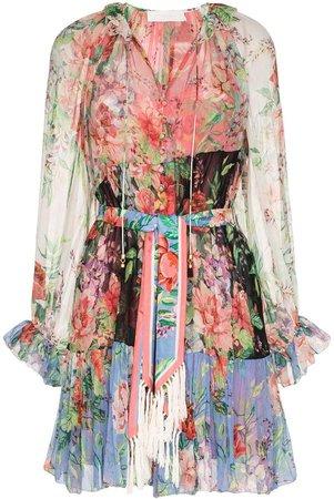 Bellitude spliced short dress