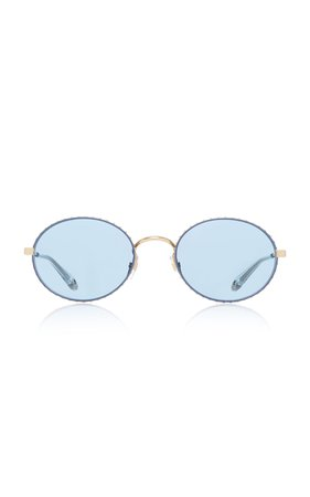 Givenchy Sunglasses Oval Sunglasses