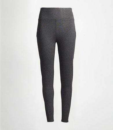 Lou & Grey Side Pocket Ponte Leggings | LOFT