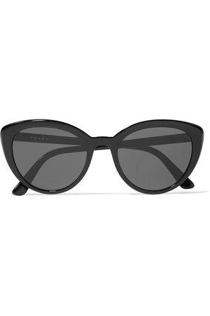 Prada | Cat-eye acetate sunglasses | NET-A-PORTER.COM