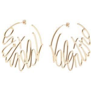 Valentino Hoop Earrings