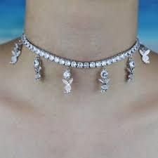 playboy bunny choker necklace - Google Search