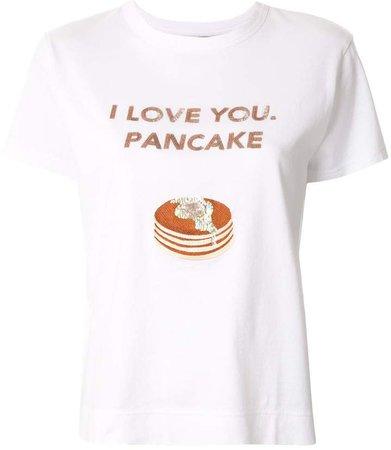 Tu Es Mon Trésor slogan print T-shirt