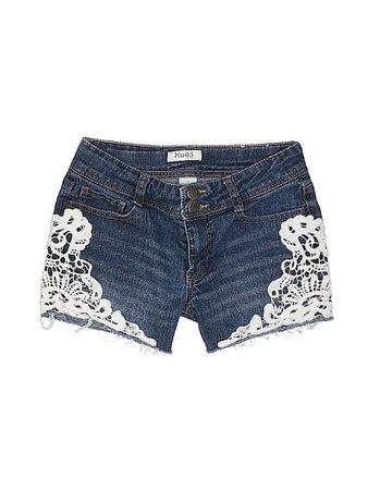 Mudd Blue Denim Shorts Size 14 - 59% off   thredUP