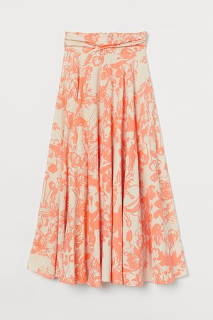 Circle Skirt - Beige