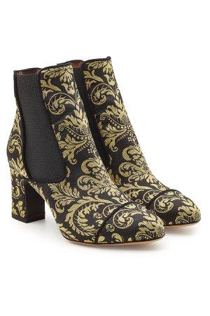 Kiki Damask Printed Ankle Boots Gr. EU 38