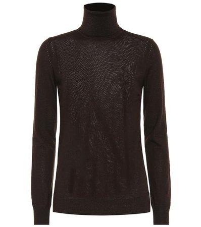 Loro Piana, Piuma cashmere turtleneck sweater Top
