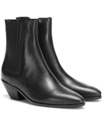 Saint Laurent - West 45 leather Chelsea boots | Mytheresa