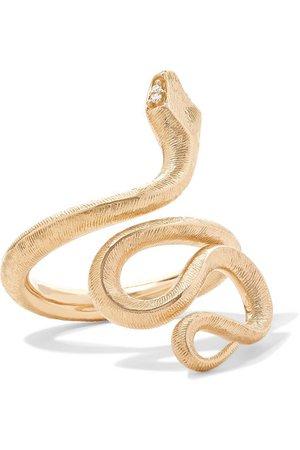 OLE LYNGGAARD COPENHAGEN Gold Snake Ring
