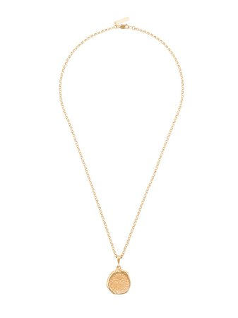 Holly Ryan Gold-Plated Picasso-Pendant Necklace Ss20 | Farfetch.com