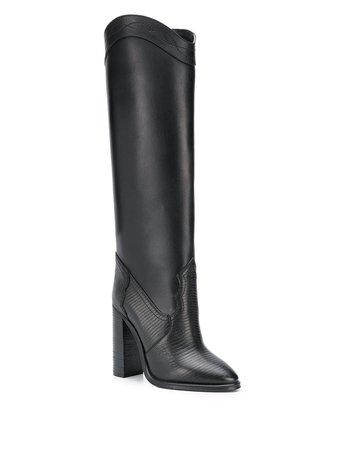 Saint Laurent Kate knee-high Boots - Farfetch