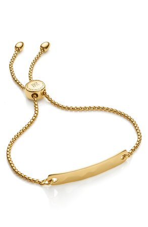 Monica Vinader Engravable Havana Friendship Chain Bracelet (Exclusive Collection) | Nordstrom