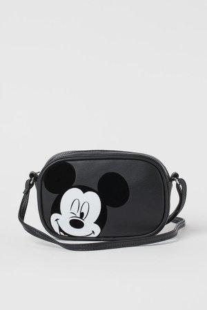 Small Shoulder Bag - Black
