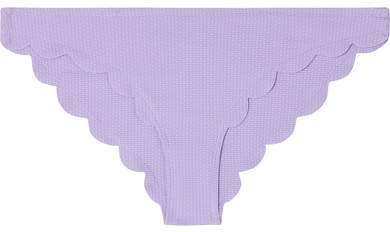 Broadway Scalloped Bikini Briefs - Lilac