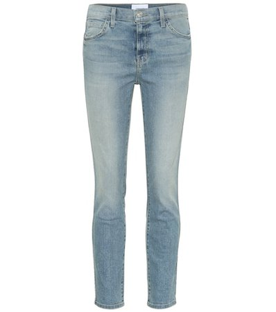 The Caballo high-rise skinny jeans