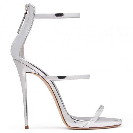 HARMONY - Sandals - Silver   Giuseppe Zanotti - USA