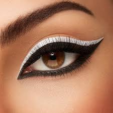 black and white eye makeup - Google Search