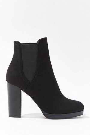 Faux Suede Chelsea Boots   Forever 21