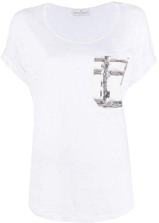 chest pocket short sleeve T-shirt