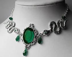 slytherin jewelry - Google Search