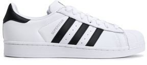 Superstar Paneled Leather Sneakers