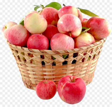 basket with lots of apples
